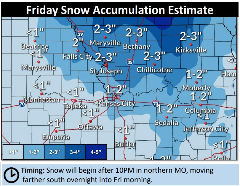 snow total map