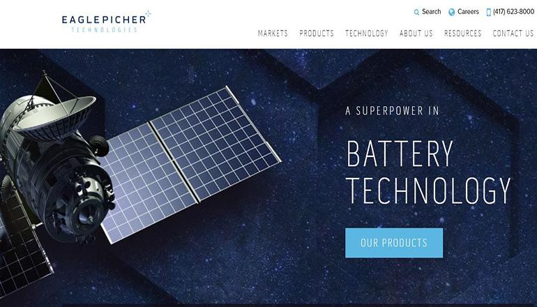Eaglepicher Technologies website (built mars rover batteries)
