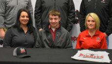 Eli Henke signs on NCMC Livestock team