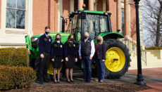 Governor Parson and FFA Students