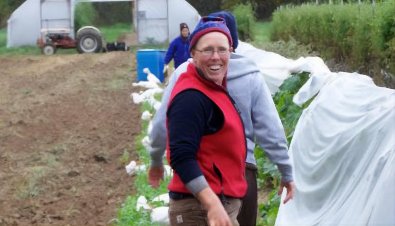Liz Graznak Organic Farmer of the year