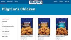 Pilgrim's Pride Chicken Website