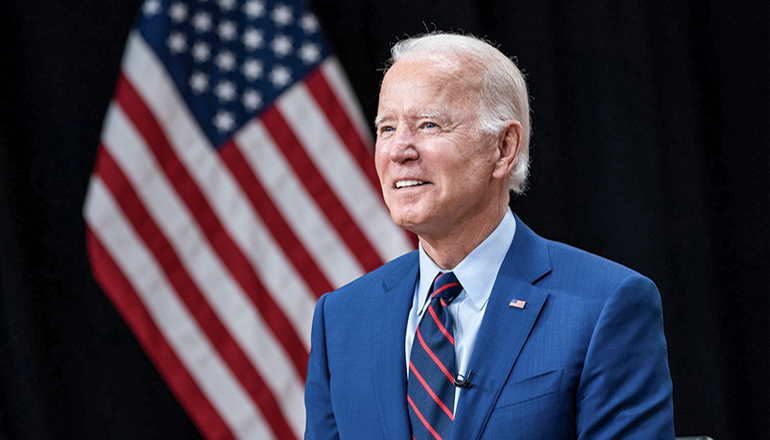 President Joe Biden Photo Courtesy of the White House