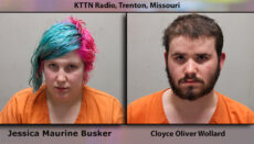 Jessica Busker and Cloyce Wollard Booking Photo