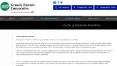 Grundy Electric Youth Leadership Program (GEC)