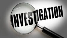Investigation with magnifying glass