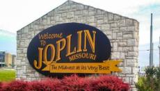 Joplin, Missouri sign