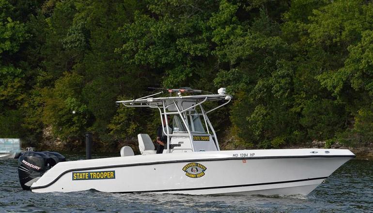Missouri State Highway Patrol or MSHP Patrol Boat