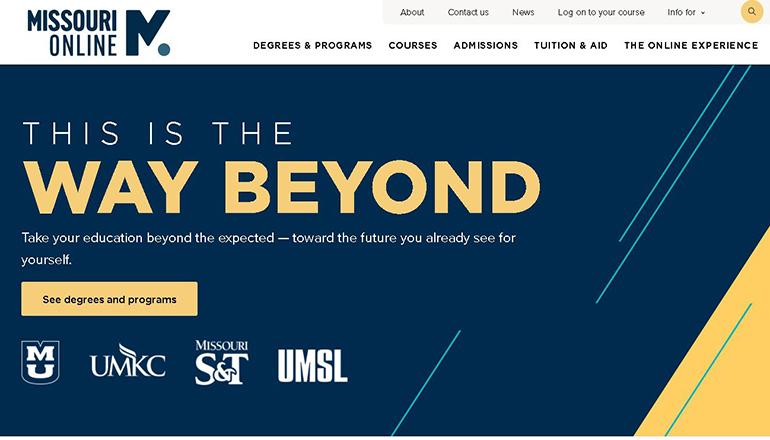 Missouri Online Website