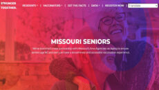 Senior Citizens section of COVID-19 website