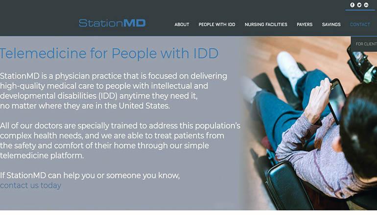 StationMD website