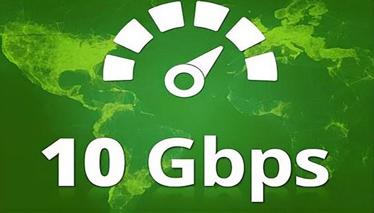 Ten (10) Gigabit Broadband Internet
