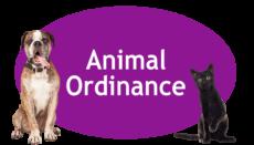Animal Ordinance