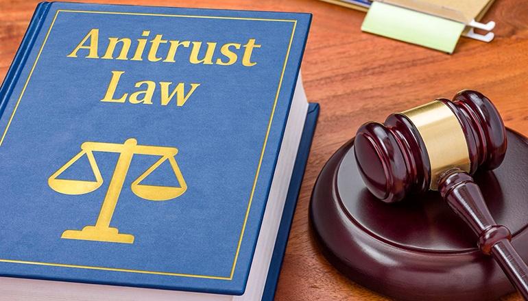 Antitrust law graphic