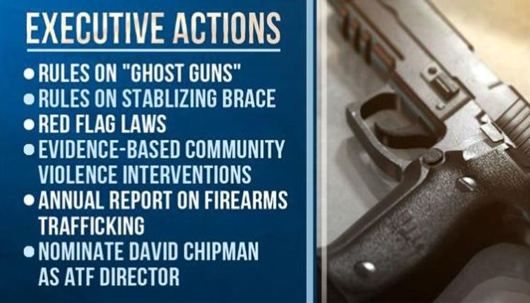 Biden Executive Actions on Gun control