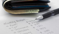 Household Expenses, budget or mortgage