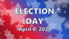 Election Day April 6, 2021