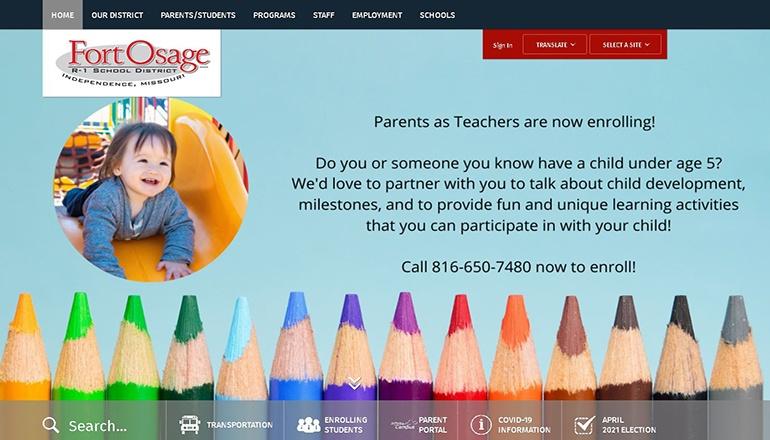 Fort Osage High School website