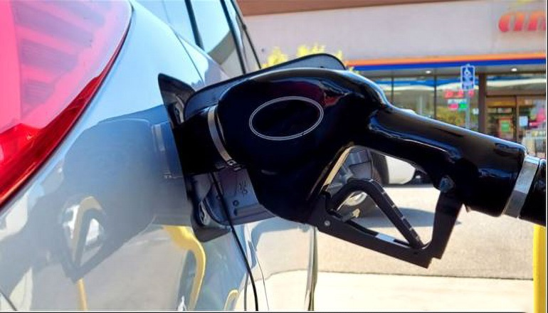 Gas Stations or car-vehicle filling with gas