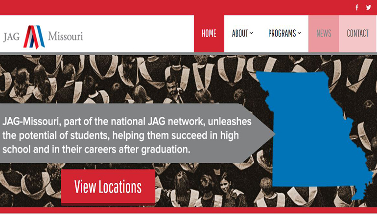 Jobs for America's Graduates-Missouri website