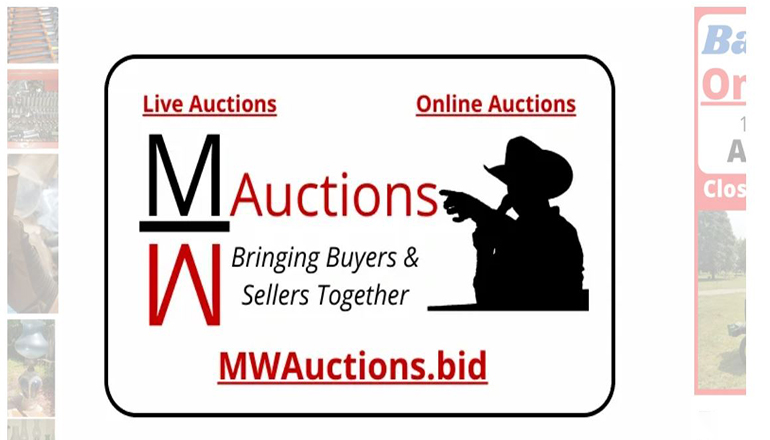 MW Auctions website