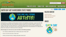 Missouri State Parks Earth Day Art