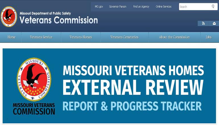Missouri Veterans Commission website