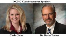 NCMC Commencement Speakers Chris Chinn Davin Turner
