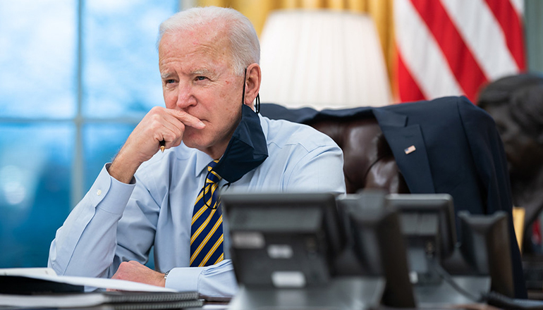 President Joe BIden (Official White House photo by Lawrence Jackson)
