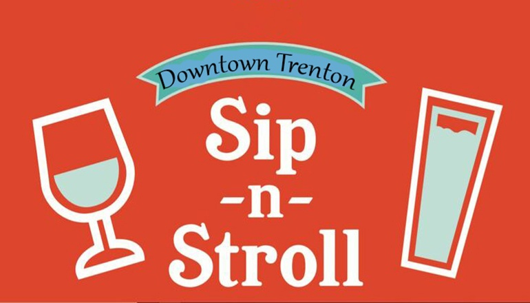 Sip and Stroll graphic