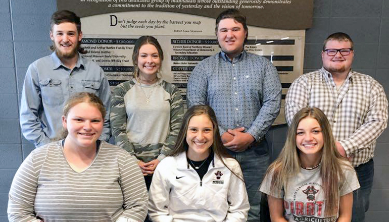 Ag Club Officers