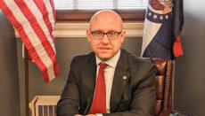 Photo of Republican Representative Chad Perkins courtesy WIkipedia