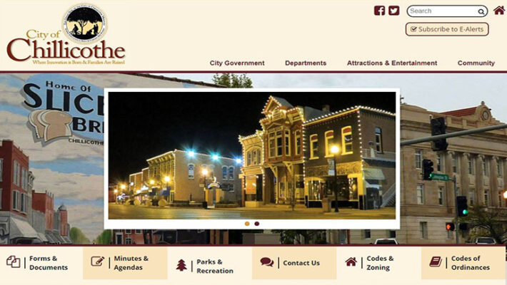 2021 City of Chillicothe website 2021