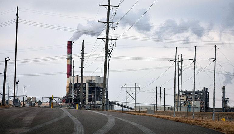 Evergy Coal Plant in Lawrence Kansas