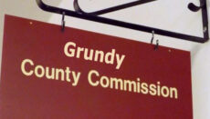 Grundy County Commission Sign