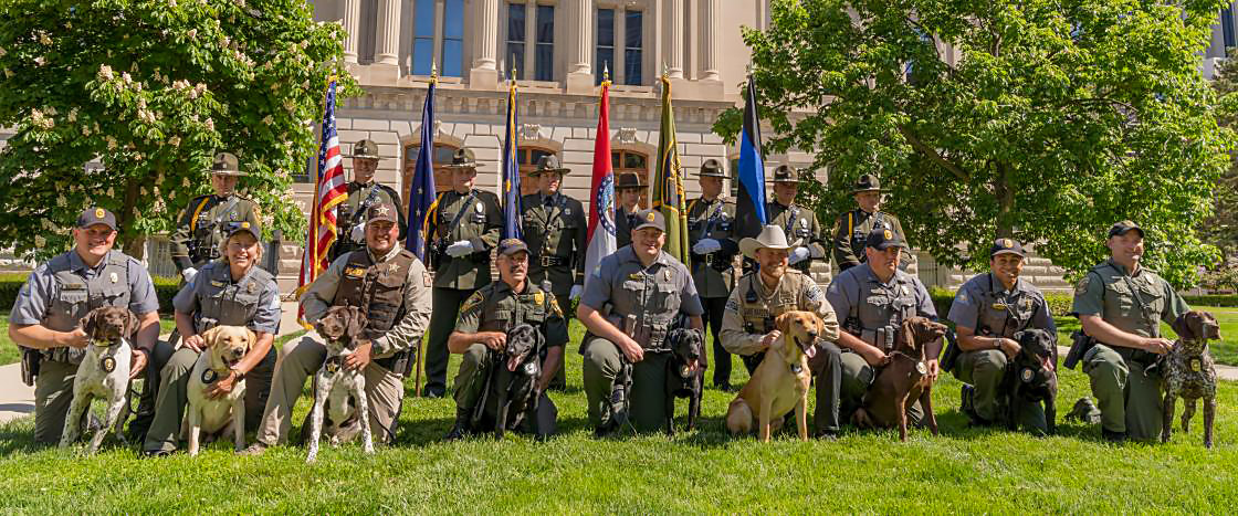 MDC Canine Unit Graduation photo