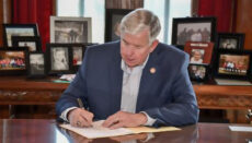 Parson signing new legislation