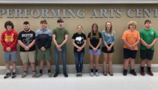 THS Drum Majors and Drumline for 2021-2022