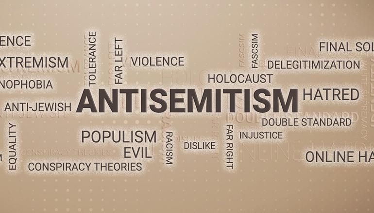 Antisemitism graphic