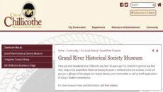 Grand River Museum Website