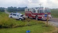 Highway 136 SUV Crash Mercer County