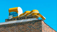 Home of Sliced Bread sign Chillicothe, Missouri