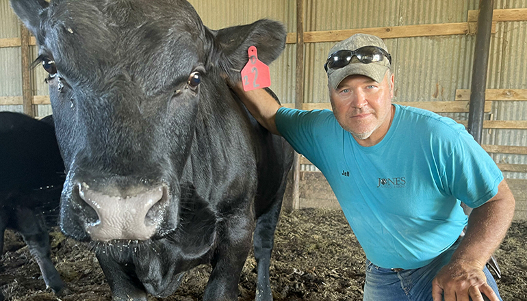 Jeff Jones, of Callaway County, runs his family's 100-year-old farm right next to a concentrated animal feeding operation. (Submitted)