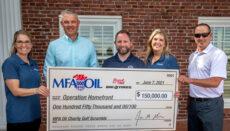 MFA Oil Check donation photo
