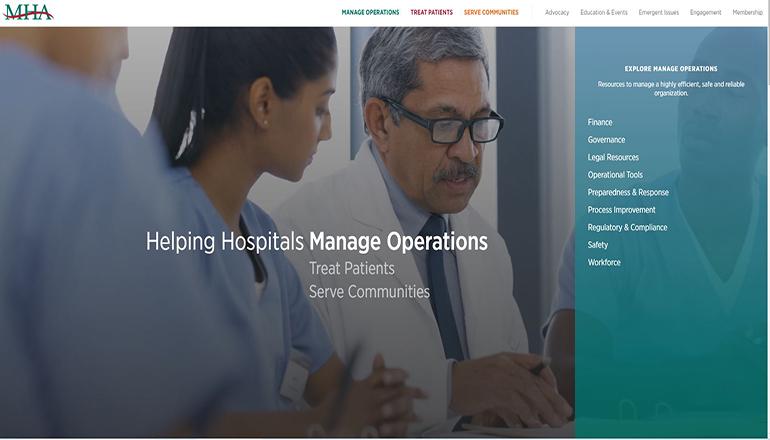 Missouri Hospital Association website