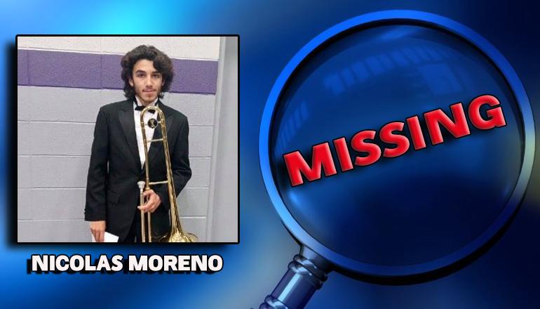 Harrison County Sheriff seeks public assistance locating Nicolas Moreno