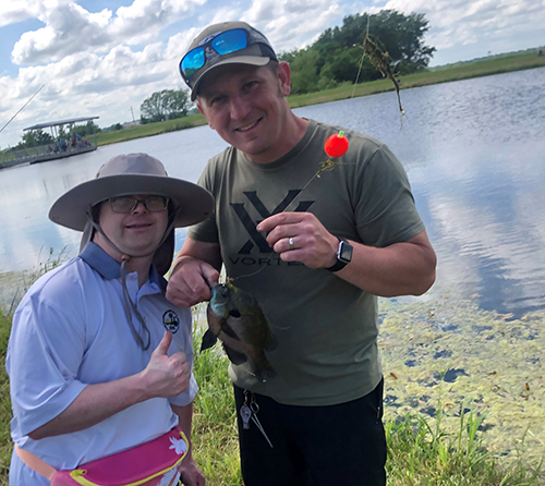 Families and Friends of the Developmentally Disabled Fishing 2021