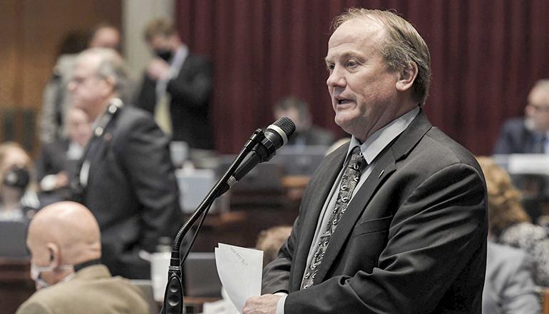 Third District State Representative Danny Busick