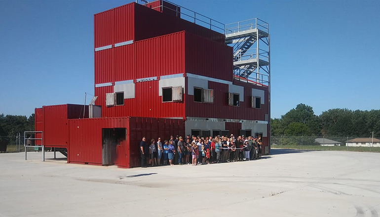 Trenton Fire Department Training Tower