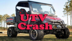 UTV Crash Graphic